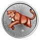 Kanada - 5 CAD Predator Serie Puma 2016 - 1 Oz Silber Color