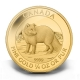 Kanada - 10 CAD Polarfuchs 2014 - 1/4 Oz Gold