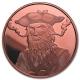 USA - Blackbeard der Pirat - 1 Oz Kupfer