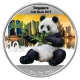 China - 10 Yuan Panda 2017 Singapur - 30g Silber Color