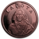 USA - Lakota Sioux Crazy Horse - 1 Oz Kupfer