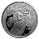 USA - Alfons Mucha Kollektion Dance - 1 Oz Silber Proof