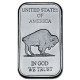 USA - American Buffalo Barren - 1 Oz Silber Barren