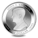 British Virgin Islands - 1 Dollar John F. Kennedy 2017 - 1 Oz Silber