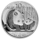 China - 10 Yuan Panda 2011 - 1 Oz Silber