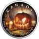 Kanada - 5 CAD Maple Leaf Halloween Kürbis 2018 - 1 Oz Silber Color
