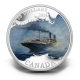 Kanada - 20 CAD Lost Ships RMS Empress of Ireland 2014 - 1 Oz Silber