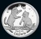 Isle of Man - Cats 2004 - 1 Oz Silber - PP, Box + CoA